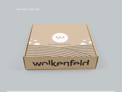 WOLKENFELD PACKAGE DESIGN - (Wolkenfeld - field of clouds)