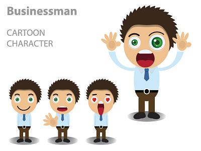 man  Converted animation design icon vector design illustration logo
