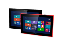 Nokia lumia 2520 side view