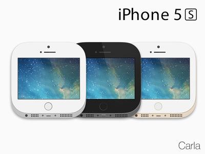 Carla (iOS 7) - iPhone 5s carla theme iphone phone 5s winterboard