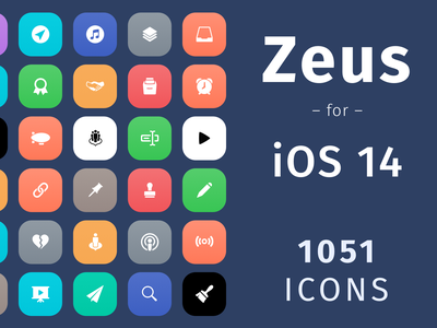 Zeus for iOS 14 - A whole new theme for your iPhone and iPad crypto set apple ipad iphone ios custom pack icon theme