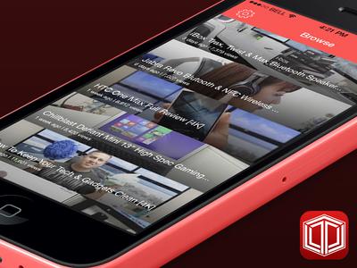 MrThaiBox123 App and Icon Redesign app iphone mrthaibox123 youtube icon