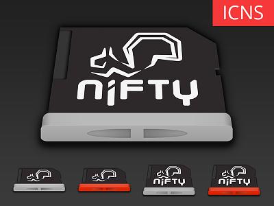 Nifty MiniDrive Icons [Freebie] nifty mini drive kickstarter mac icon icons