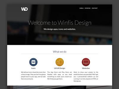 WinfisDesign.com Redesign website redesign winfis design winfisdesign.com webflow