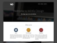 WinfisDesign.com Redesign