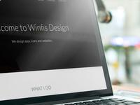WinfisDesign.com Re-Redesign