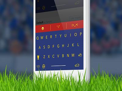 Football Keyboards - Themeboard keyboard themeboard theme app ui custom barcelona football soccer barça fc barcelona
