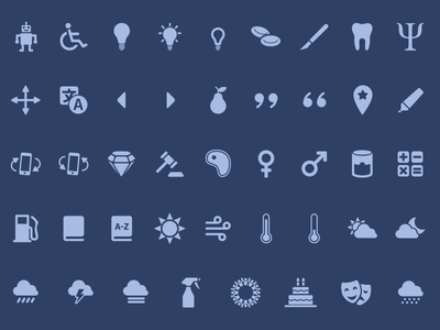 Zeus - Icon set for every project (1.1 Update) filled icons icon bundle material ios web icon set vector line icons icon