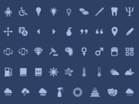 Zeus - Icon set for every project (1.1 Update)