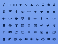 Zeus - Icon set for every project (v1.2 - 500 Icons!)