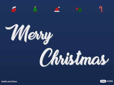 Merry Christmas from Zeus! icon icons vector icon set web ios material icon bundle filled icons zodiac horoscope signs