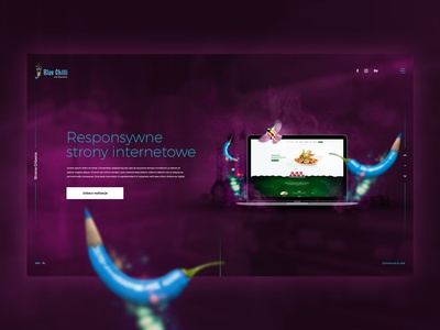 Blue Chilli - Interactive Agency Website