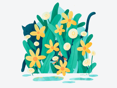 Spring app 应用 类型 ps 设计 web 插图 illustration ui design