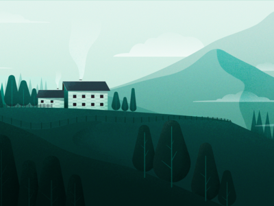 Mountain House 类型 ui ps 设计 插图