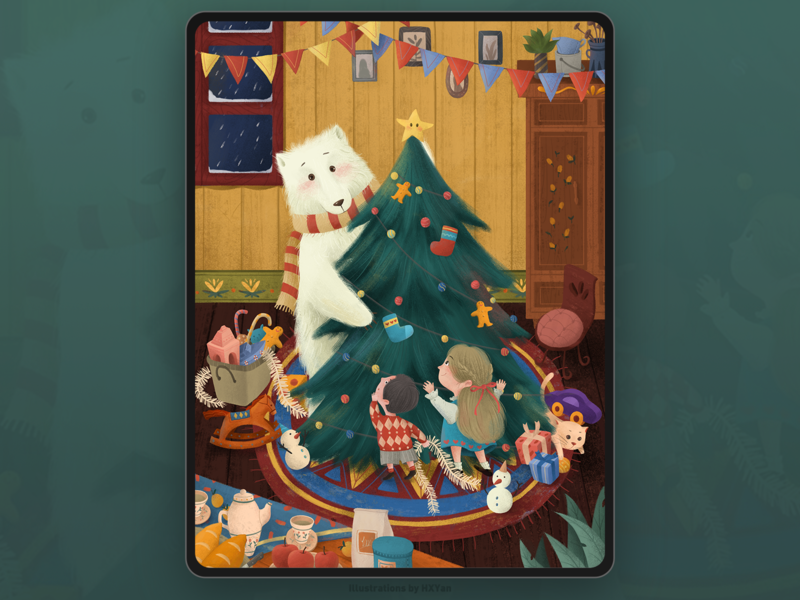 Merry Christmas. web 设计 ux ios 类型 插图 illustration design ui ps