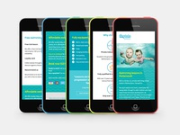 Tiny Tots Splashes responsive website