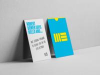 Montagu Evans business cards