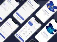 Banking App Onboarding anuj chauhan signup sign in banking app uxdesign ux uiux ui design onboarding ui onboarding bankingapp banking app design icon ui web ios guide screen design mobile app application design application app design app