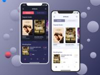 Book app ux design bookapp books ux apps design appscreen app mobile uiux uidesign ios application ui design app