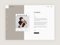 Kinfolk Product Page