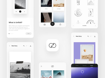 Unfold App | Create Stories