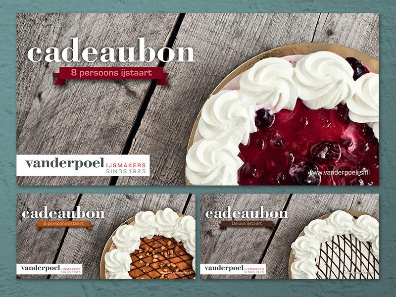 Vanderpoel gift cards vanderpoel ijs ice cream cake photography wood craft artisan tasty raw cadeaubon gift card food