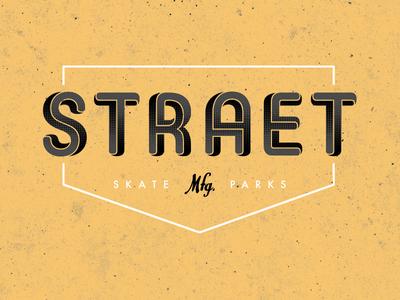 STRAET skate parks mfg. (variation)