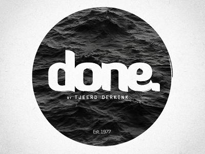Done. Logo logo circle diavlo orator atlantic water black-white