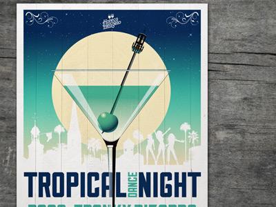 Poster artwork Tropical Dance Night
