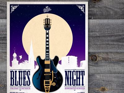 Poster artwork Blues Night