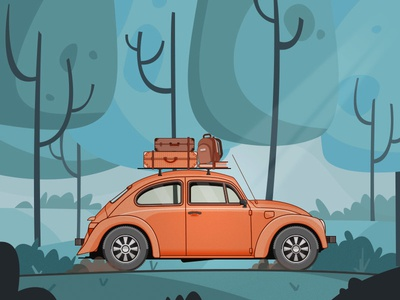Car car beetle