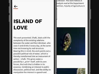 Work(s) mobile layout responsive web works portfolio clean minimal ux ui