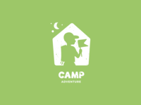 Camp Adventure Logo Concept