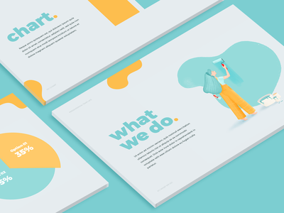 Presentation Template data graph pitch deck content design drawing illustration chart template keynote presentation powerpoint keynote