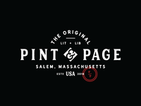 Pint & Page | Logo System