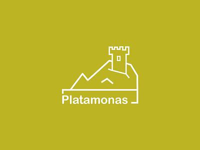 Snapchat Geofilter - Platamonas, GR flat modern mountain castle sea platamon platamonas greece geofilter snapchat
