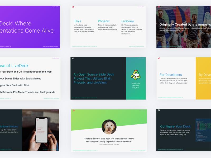 Live Deck Slide Design presentations open source deck slides presentation app ui ux
