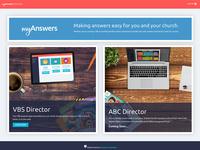 myAnswers Homepage