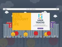 User Tracks Homepage