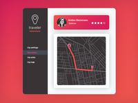 Daily UI 020: Location Tracker