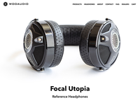 Headphone Hi-Fi Product UI Design