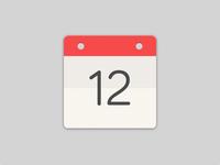 Flat Icon Calendar