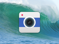 Camera icon on WWDC background