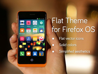 Flat Theme for Mobile OS