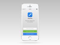 Mobile App Landing UI