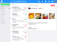 Inbox UI View