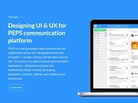 UI UX Designer Portfolio Design