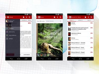 ČBDB app ui cbdb bibliography books literature android app ui