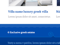 Luxury real estates in Greece