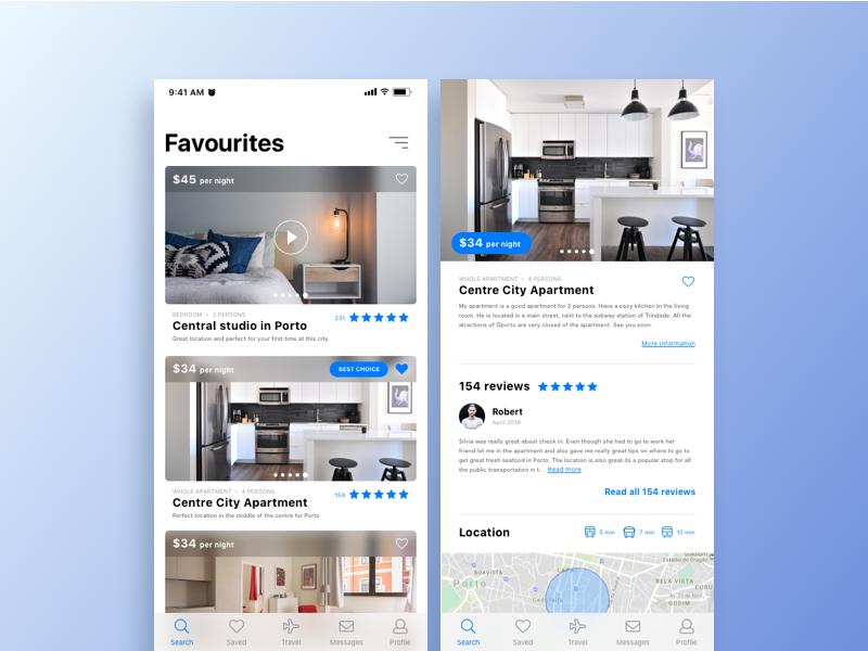 Daily UI real estate daily mobile design digital minimal ux ui app estate real
